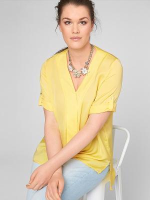 Блузка S.OLIVER. Цвет: желтый