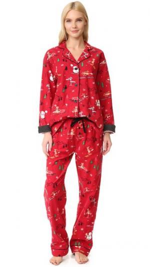 Пижама Foxy PJ Salvage. Цвет: оранжевый