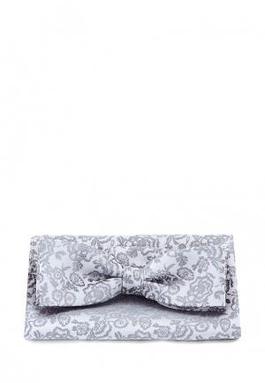 Комплект бабочка и платок Carpenter. Цвет: серый