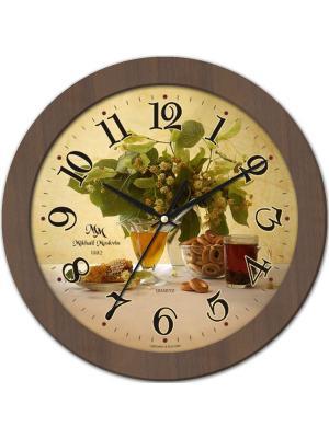 Часы настенные Михаилъ Москвинъ. Цвет: золотистый