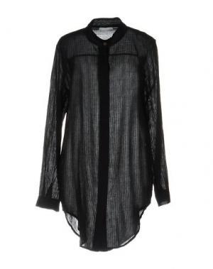 Pубашка YES ZEE by ESSENZA. Цвет: черный