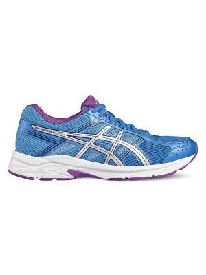 Кроссовки  GEL-CONTEND 4 ASICS. Цвет: голубой, серебристый, фиолетовый