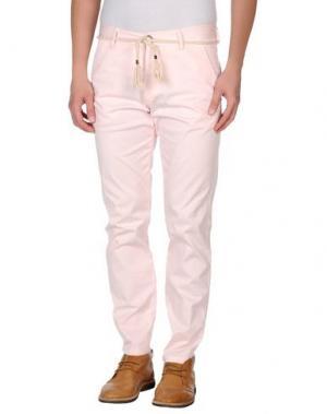 Повседневные брюки BASICON. Цвет: светло-розовый