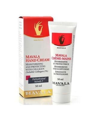 Крем для рук Hand Cream 50ml Mavala. Цвет: белый