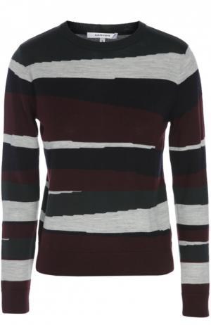 Вязаный свитер Carven. Цвет: разноцветный