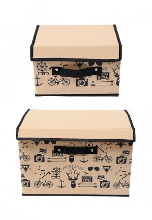 Система хранения для одежды 2 пр. Homsu. Цвет: бежевый