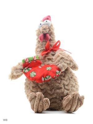 Петух новогодний беж. 22 см Fluffy Family. Цвет: бежевый, белый
