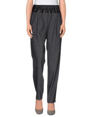 Повседневные брюки THAKOON ADDITION. Цвет: серый
