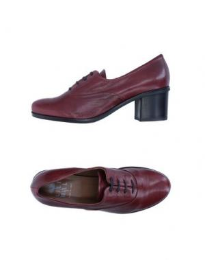 Обувь на шнурках LILIMILL. Цвет: красно-коричневый
