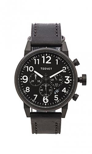 Часы jpt-ts44 Tsovet. Цвет: черный