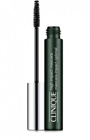 Тушь High Impact Mascara Black Brown Clinique. Цвет: бесцветный