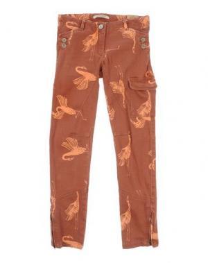 Повседневные брюки SCOTCH R'BELLE. Цвет: кирпично-красный