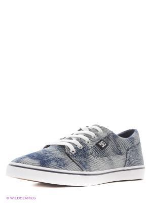 Кеды DC Shoes. Цвет: синий, черный