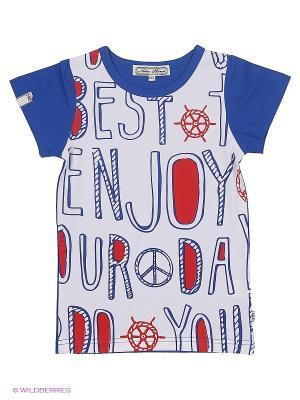 Футболка Nota Bene. Цвет: темно-синий