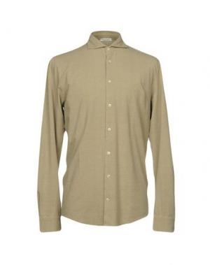 Pубашка GRAN SASSO. Цвет: бежевый