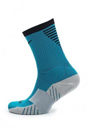 Носки Nike. Цвет: бирюзовый