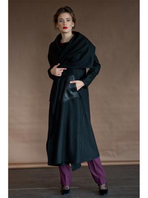 Пальто Levall. Цвет: черный, золотистый