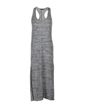 Платье длиной 3/4 ODI ET AMO. Цвет: серый