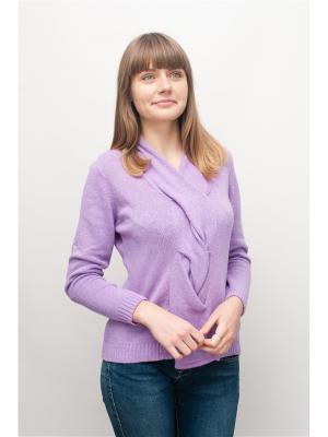Пуловер KiS.. Цвет: сиреневый