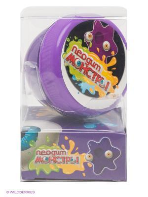 Пластилин для рук, Неогам Монстр Фиолетовый Neogum. Цвет: фиолетовый