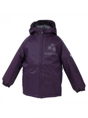Куртка HUPPA. Цвет: фиолетовый, антрацитовый