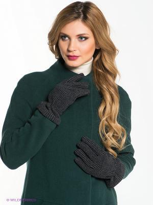 Перчатки Venera. Цвет: серый, черный