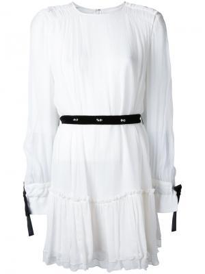 Платье мини Les Marais Manning Cartell. Цвет: белый