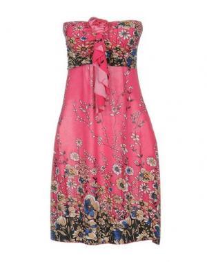 Короткое платье GIORGIA & JOHNS. Цвет: фуксия