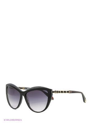 Солнцезащитные очки BLD 1615 101 Baldinini. Цвет: черный, серый, серебристый