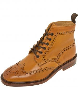 Ботинки Loake. Цвет: коричневый
