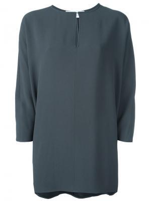 Свободная блузка Gianluca Capannolo. Цвет: серый