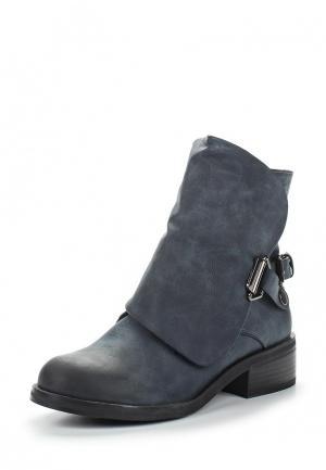 Ботинки Saivvila. Цвет: синий
