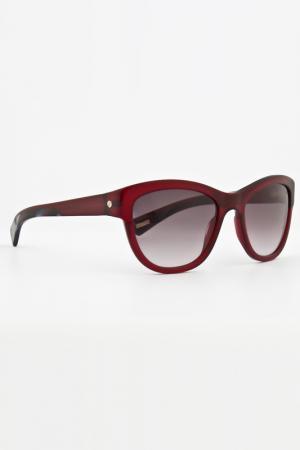 Очки солнцезащитные Lanvin. Цвет: красный