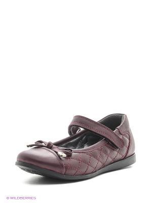 Туфли Vitacci. Цвет: бордовый