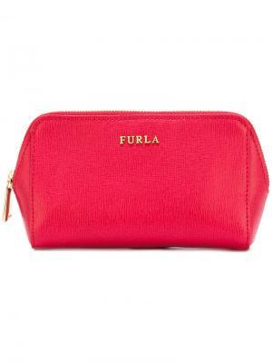 Косметичка с откидным клапаном Furla. Цвет: розовый и фиолетовый
