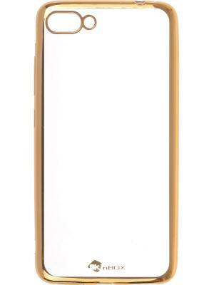 Накладка для Asus Zenfone 4 Max (ZC554KL) skinBOX. Цвет: золотистый