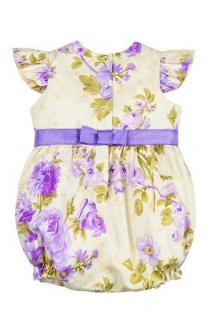 Комплект Фиолетовый цветок SASHA Petit Gâteau. Цвет: multicolor