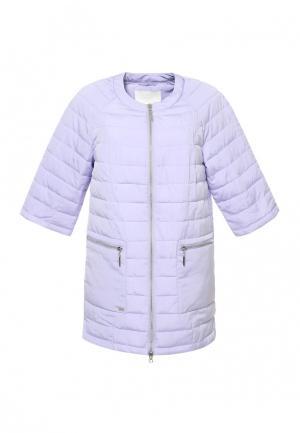 Куртка Московская меховая компания. Цвет: фиолетовый