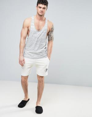 Diesel Белые шорты классического кроя в стиле casual от. Цвет: белый