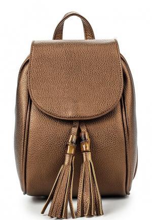 Рюкзак Ors Oro. Цвет: коричневый