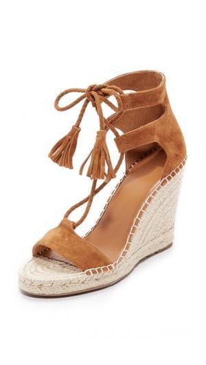Сандалии на шнуровке Delilah Joie. Цвет: коричневый