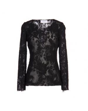 Блузка LUISA BECCARIA. Цвет: черный