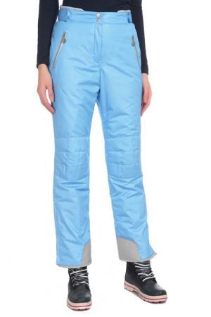 Горнолыжные брюки с карманами Stayer. Цвет: голубой