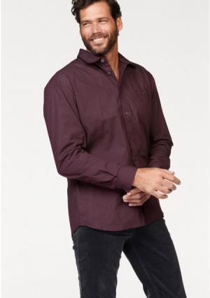 Рубашка MANS WORLD MAN'S. Цвет: бордовый