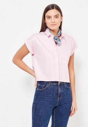 Рубашка Asya Malbershtein. Цвет: розовый