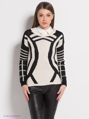 Джемпер Vero moda. Цвет: черный, белый