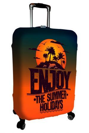 Чехол на чемодан SOVA COVER. Цвет: каникулы