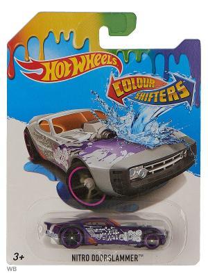 Машинка, изменяющая цвет Hot Wheels. Цвет: антрацитовый, темно-серый, черный