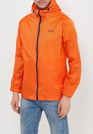 Ветровка Regatta. Цвет: оранжевый