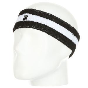 Напульсники  5 Strike Headband Black Undefeated. Цвет: черный,белый